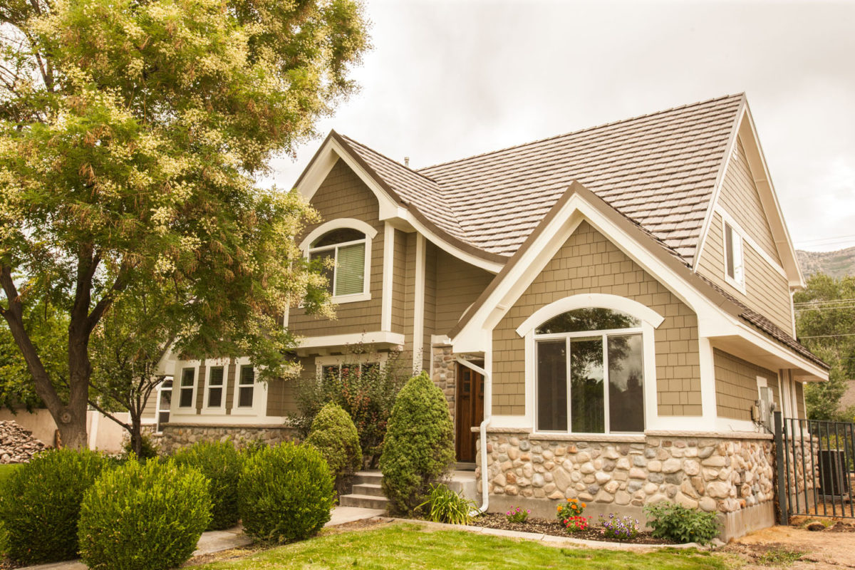exterior of a craftsman style home